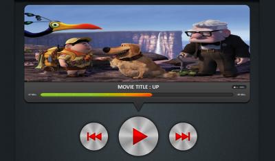 Movie Player UI