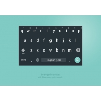 Android Material Design Keyboard for Nexus4