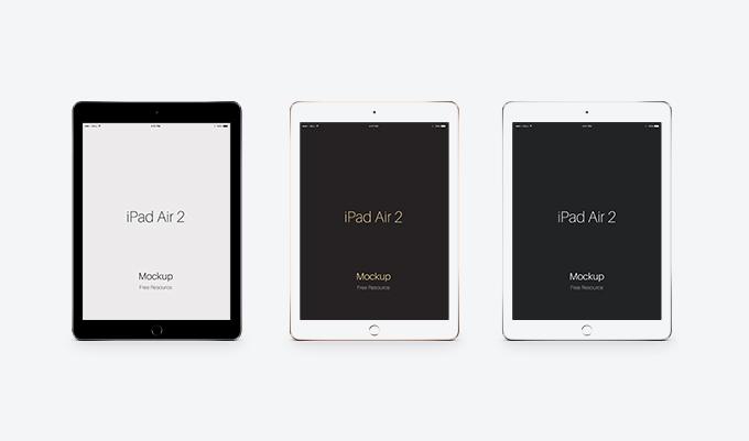 Psd iPad Air 2