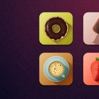 Free Tasty Icons (PSD)