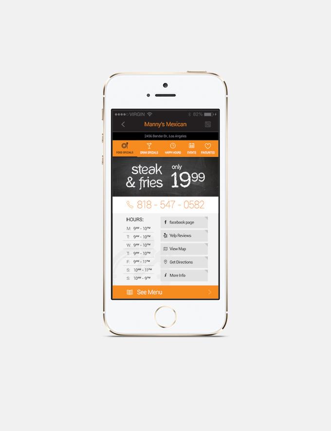 Freebie: Restaurant App Detail