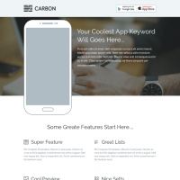 Carbon One Page