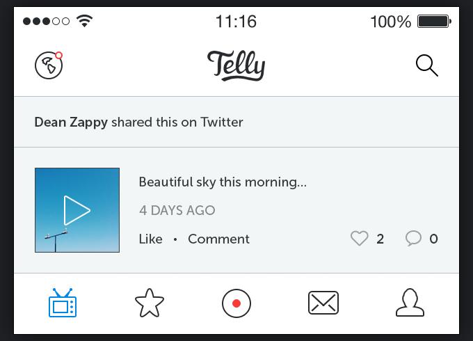 Telly iOS 7 App