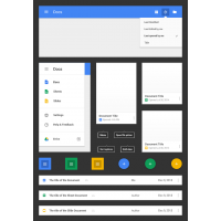 Google Docs - Android L Style