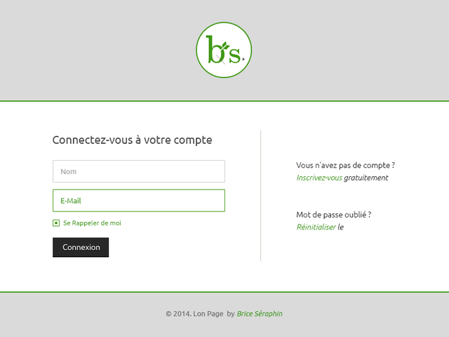 Login Page #Freebies