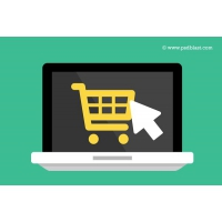 Flat Buy Online Icon (PSD