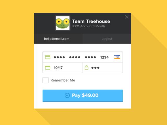 Checkout UI Freebie