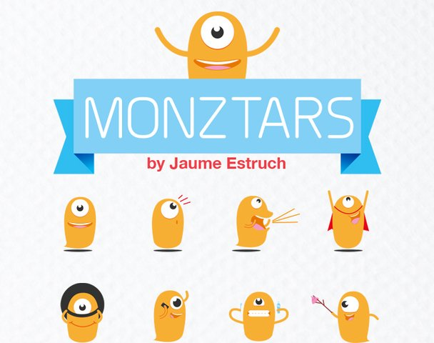 23 Monztars Stickers