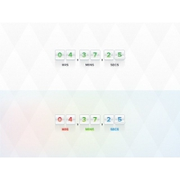 Coming Soon Counter Free PSD Template