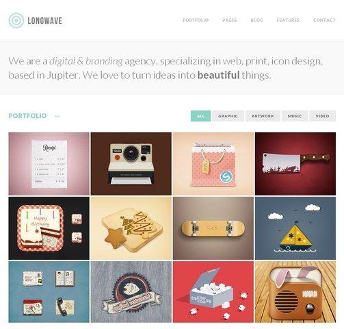Longwave Free PSD Homepage
