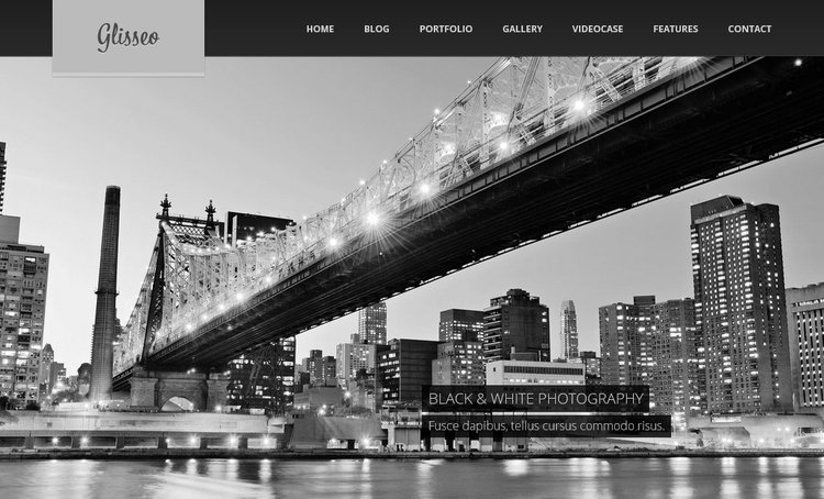 Glisseo Free PSD Template