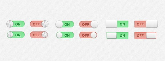 On Off Switches and Toggles