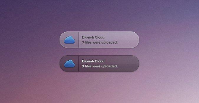 Blueish Cloud Growl Style