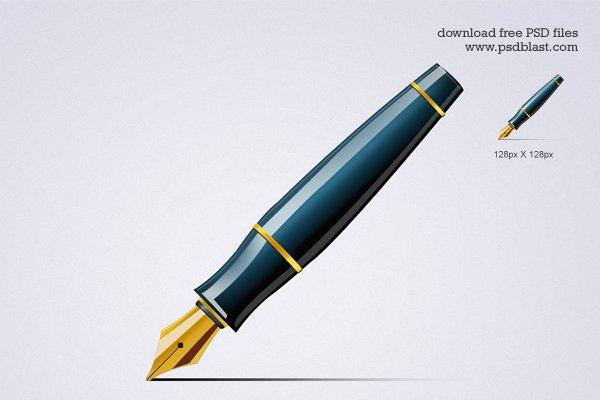 Pen Icon (PSD)