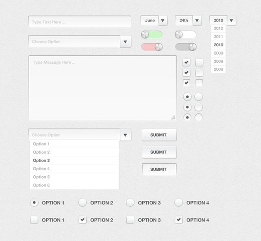 Silver Form UI Kit