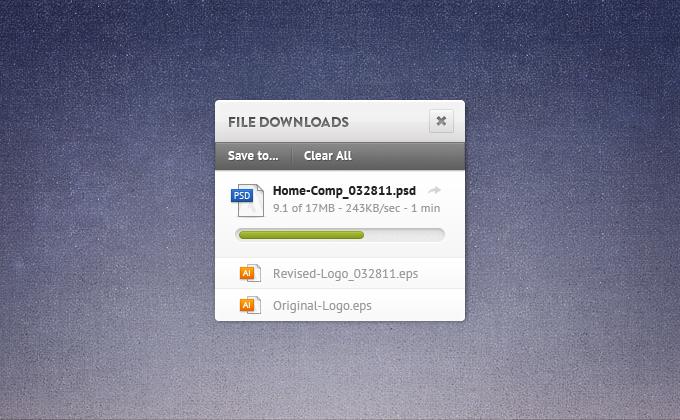 FIle Download Widget