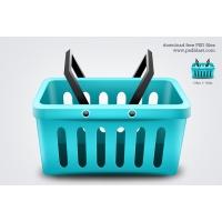 Shopping Basket Icon (PSD)