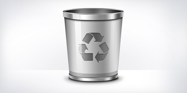 Recycle Bin Icon (PSD)