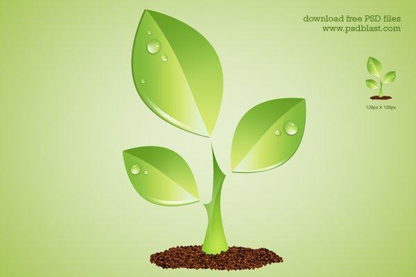 Green Plant Environment Symbol (PSD)