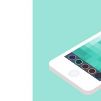 Color Picker Mobile App Concept