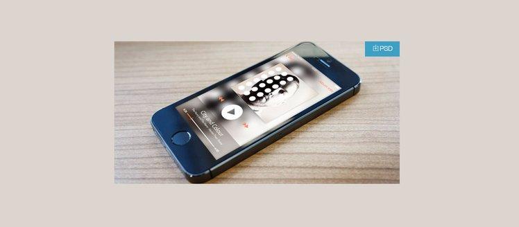 Minimal Modern Music Player App