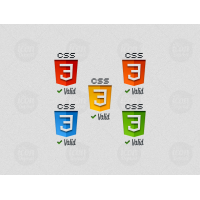 CSS3 Valid Logos