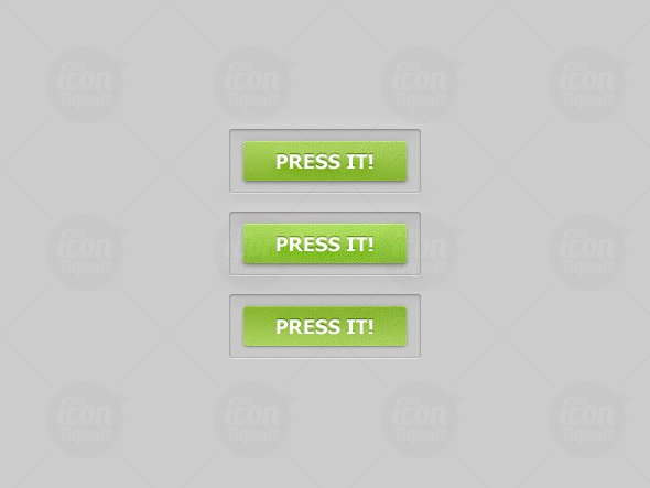 Green Website Buttons