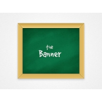 Chalkboard Banner Preset