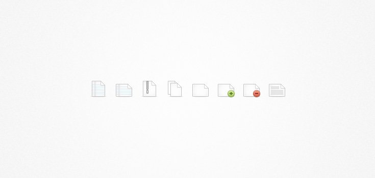File Icon Set Continued... (PSD)