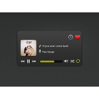Music Player_Widget