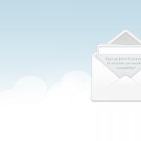 Sign Up Envelope