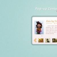 Stylish Pop-up Content Box