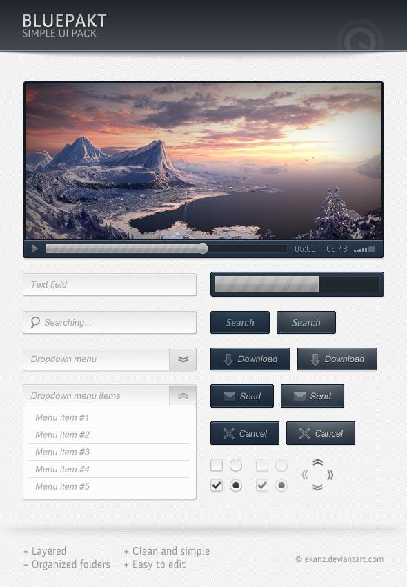 Bluepackt Free Web Elements