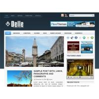Delle Free WordPress News Template