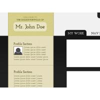 Simple Folio Page