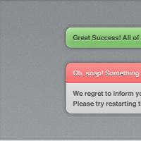 Notification/Alert Interface