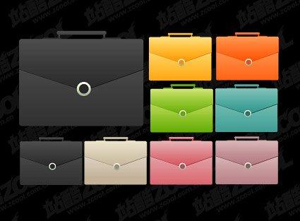 Color Briefcase Icon