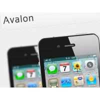 Avalon App Landing Page