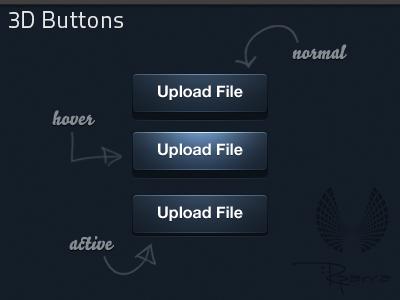 3D Layered Button
