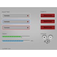Light Grey UI Element