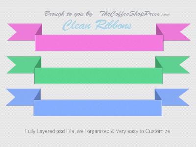 Clean Ribbons