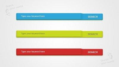 3D Search Bar