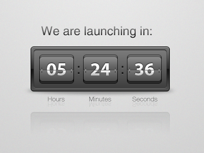 We Are Launching In