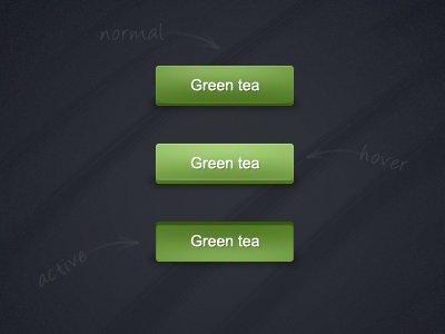 Green Tea Buttons