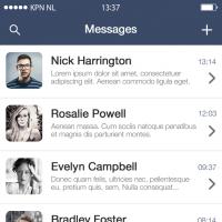 Message Screen