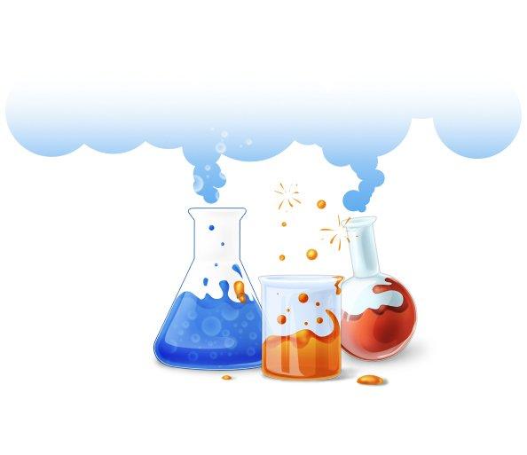 Vector Flask Illustration