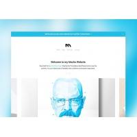 Macho WordPress Theme (PSD)