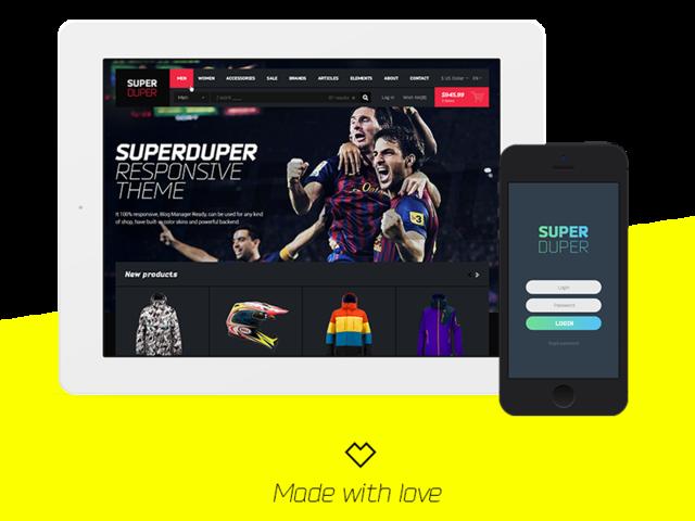 Super Duper. Amazing Big Theme