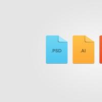 Minimal File Format Icons