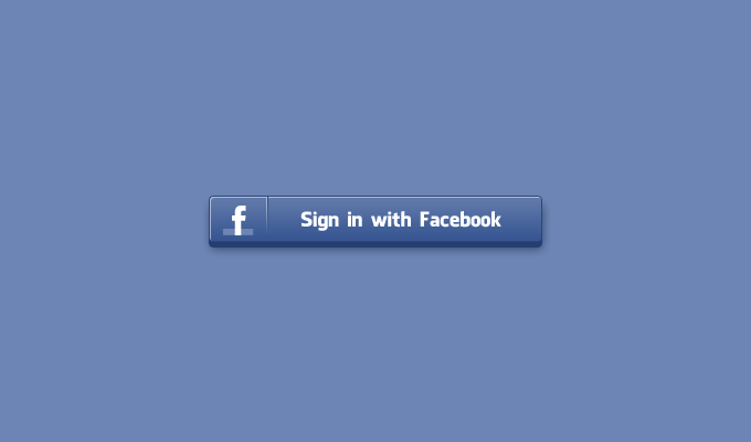 Sign In Facebook Button